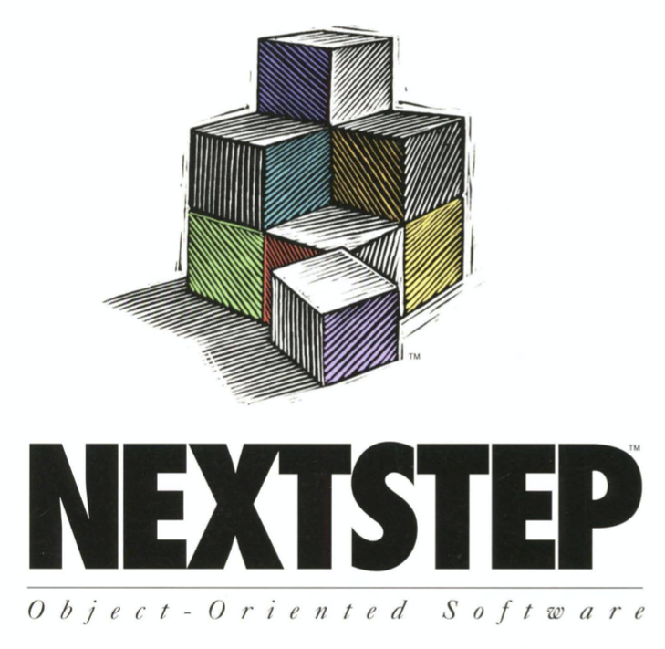 nextstep logo, from Quick Start manual